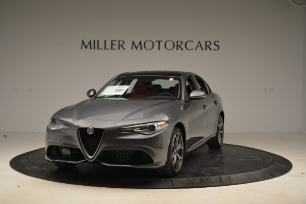 New 2018 Alfa Romeo Giulia Ti Sport Q4 for sale Sold at Maserati of Greenwich in Greenwich CT 06830 1