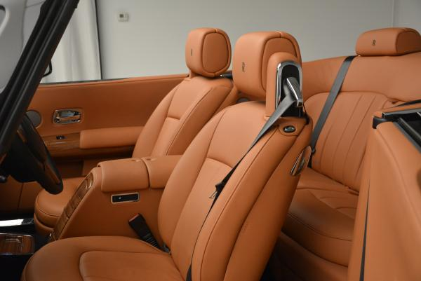 New 2016 Rolls-Royce Phantom Drophead Coupe Bespoke for sale Sold at Maserati of Greenwich in Greenwich CT 06830 27