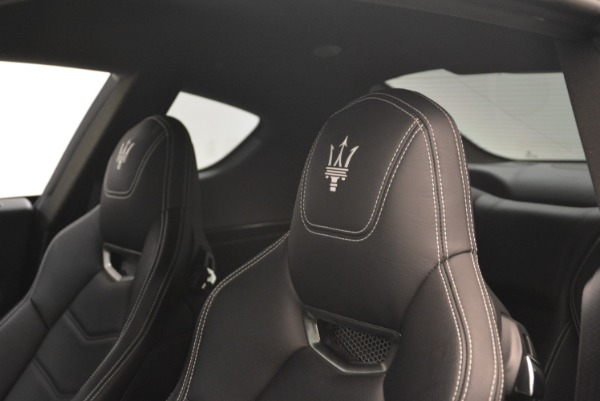 Used 2016 Maserati GranTurismo Sport for sale Sold at Maserati of Greenwich in Greenwich CT 06830 18