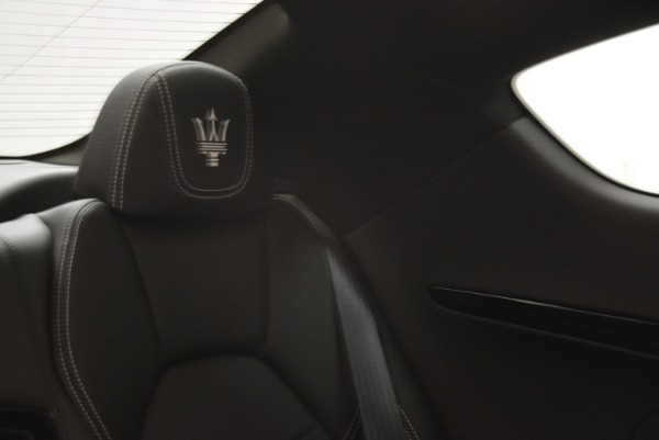 Used 2016 Maserati GranTurismo Sport for sale Sold at Maserati of Greenwich in Greenwich CT 06830 28