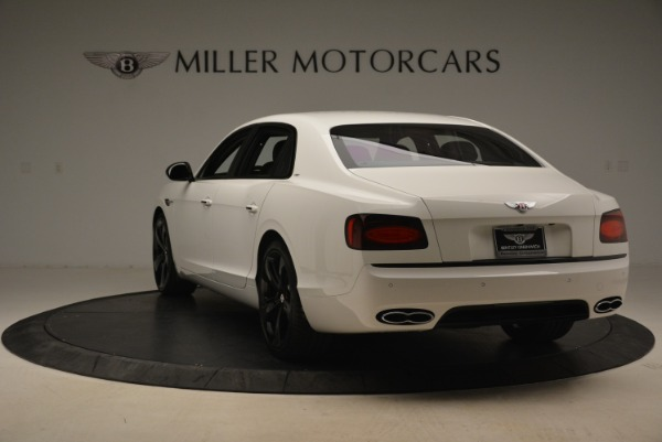 New 2018 Bentley Flying Spur V8 S Black Edition for sale Sold at Maserati of Greenwich in Greenwich CT 06830 5