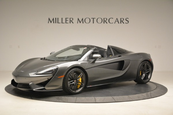 New 2018 McLaren 570S Spider for sale Sold at Maserati of Greenwich in Greenwich CT 06830 2