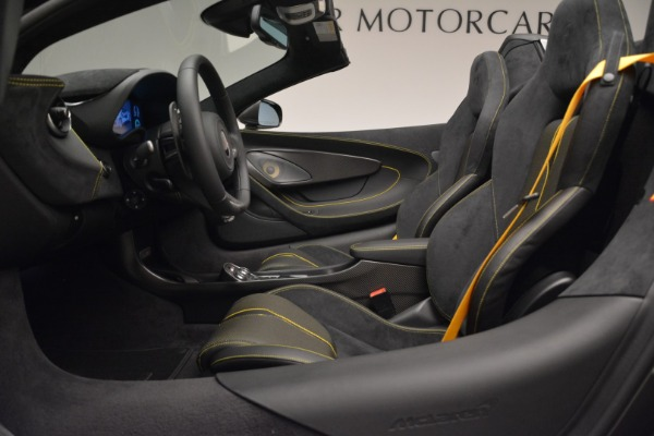 New 2018 McLaren 570S Spider for sale Sold at Maserati of Greenwich in Greenwich CT 06830 24