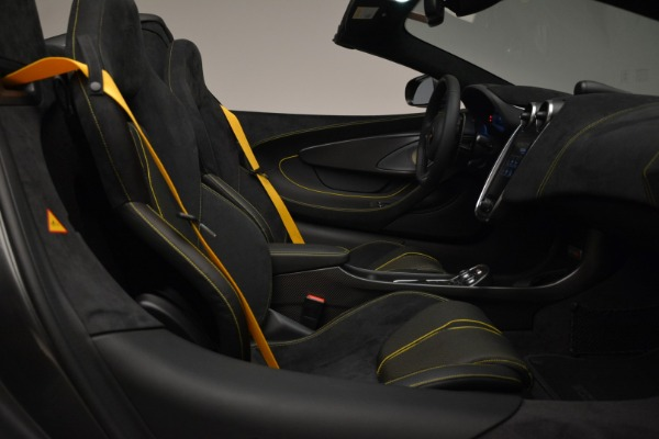New 2018 McLaren 570S Spider for sale Sold at Maserati of Greenwich in Greenwich CT 06830 27