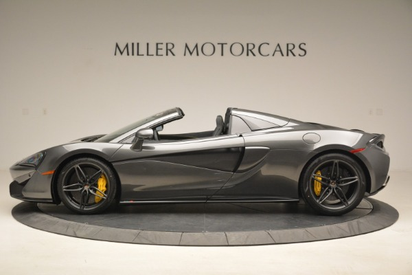 New 2018 McLaren 570S Spider for sale Sold at Maserati of Greenwich in Greenwich CT 06830 3