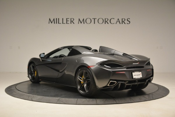 New 2018 McLaren 570S Spider for sale Sold at Maserati of Greenwich in Greenwich CT 06830 5