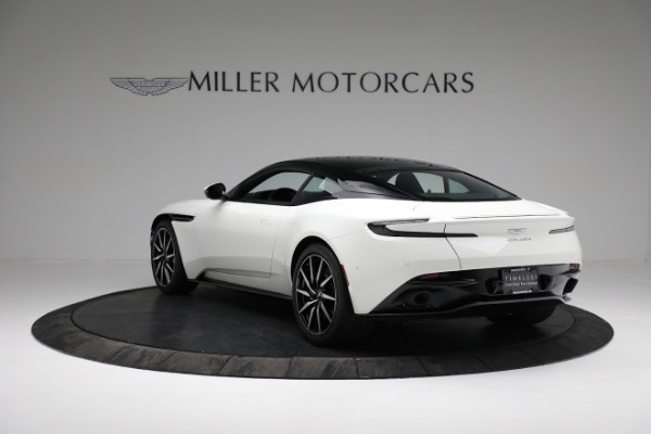New 2018 Aston Martin DB11 V8 Coupe for sale Sold at Maserati of Greenwich in Greenwich CT 06830 4