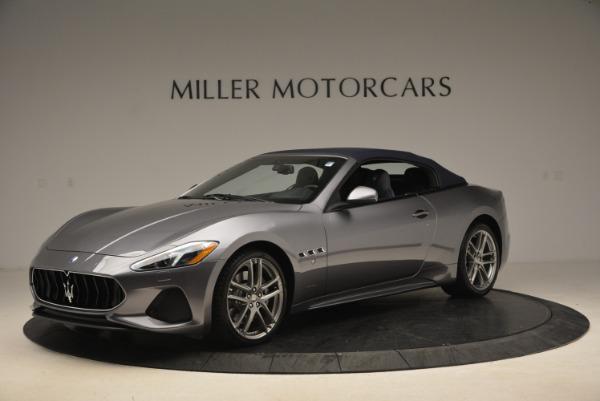New 2018 Maserati GranTurismo Sport Convertible for sale Sold at Maserati of Greenwich in Greenwich CT 06830 2