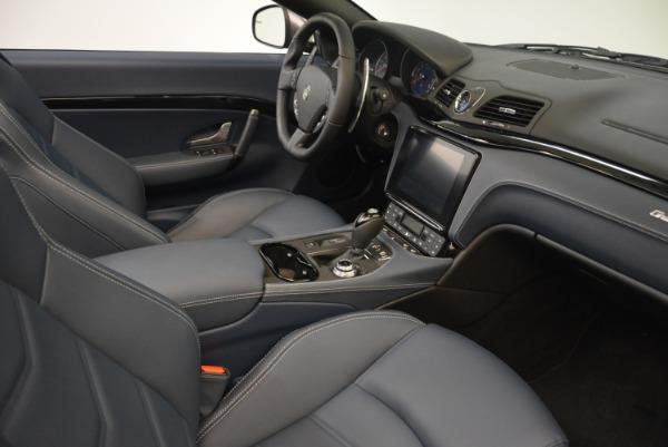 New 2018 Maserati GranTurismo Sport Convertible for sale Sold at Maserati of Greenwich in Greenwich CT 06830 22