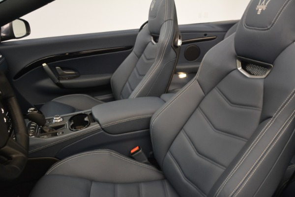 New 2018 Maserati GranTurismo Sport Convertible for sale Sold at Maserati of Greenwich in Greenwich CT 06830 27