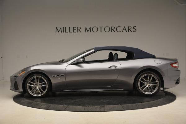 New 2018 Maserati GranTurismo Sport Convertible for sale Sold at Maserati of Greenwich in Greenwich CT 06830 4