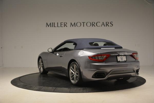 New 2018 Maserati GranTurismo Sport Convertible for sale Sold at Maserati of Greenwich in Greenwich CT 06830 6