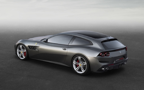New 2020 Ferrari GTC4LUSSO for sale Call for price at Maserati of Greenwich in Greenwich CT 06830 4
