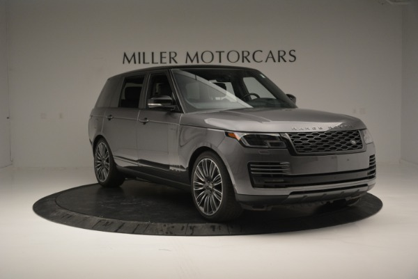 Used 2018 Land Rover Range Rover Supercharged LWB for sale Sold at Maserati of Greenwich in Greenwich CT 06830 11