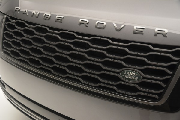 Used 2018 Land Rover Range Rover Supercharged LWB for sale Sold at Maserati of Greenwich in Greenwich CT 06830 13
