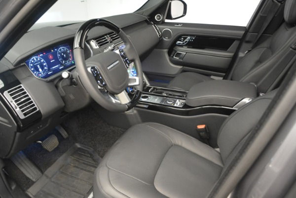 Used 2018 Land Rover Range Rover Supercharged LWB for sale Sold at Maserati of Greenwich in Greenwich CT 06830 17