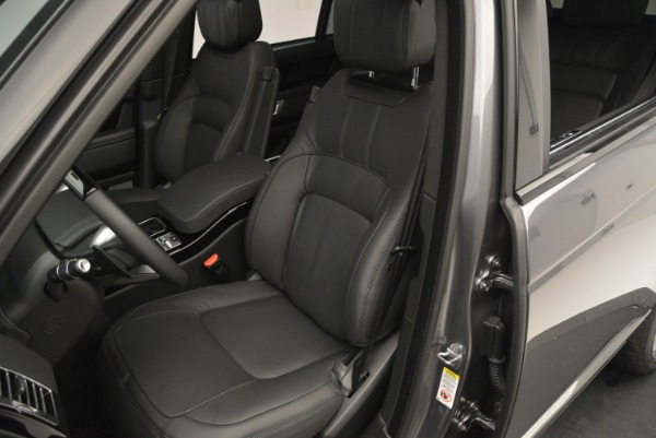 Used 2018 Land Rover Range Rover Supercharged LWB for sale Sold at Maserati of Greenwich in Greenwich CT 06830 19