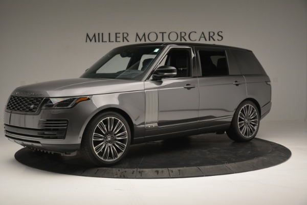 Used 2018 Land Rover Range Rover Supercharged LWB for sale Sold at Maserati of Greenwich in Greenwich CT 06830 2