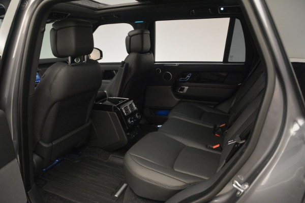 Used 2018 Land Rover Range Rover Supercharged LWB for sale Sold at Maserati of Greenwich in Greenwich CT 06830 20