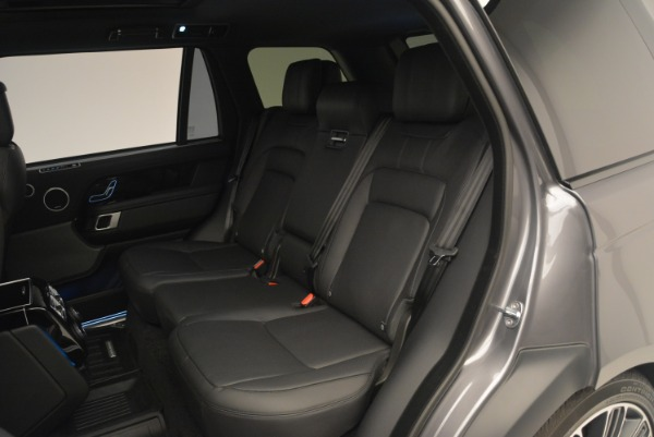 Used 2018 Land Rover Range Rover Supercharged LWB for sale Sold at Maserati of Greenwich in Greenwich CT 06830 21