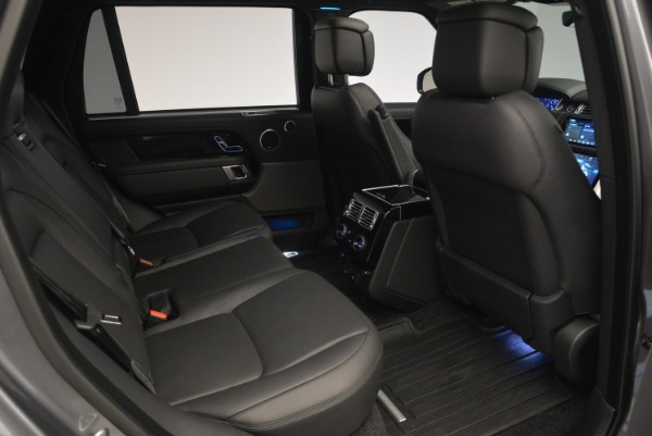 Used 2018 Land Rover Range Rover Supercharged LWB for sale Sold at Maserati of Greenwich in Greenwich CT 06830 26