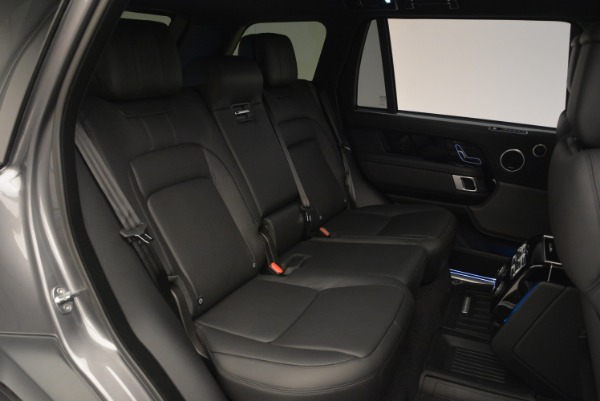 Used 2018 Land Rover Range Rover Supercharged LWB for sale Sold at Maserati of Greenwich in Greenwich CT 06830 27