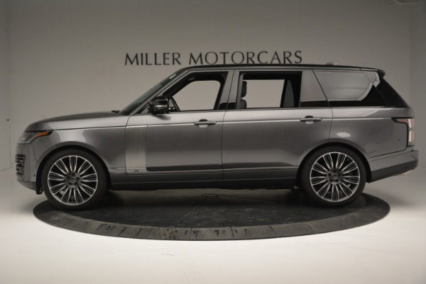 Used 2018 Land Rover Range Rover Supercharged LWB for sale Sold at Maserati of Greenwich in Greenwich CT 06830 3