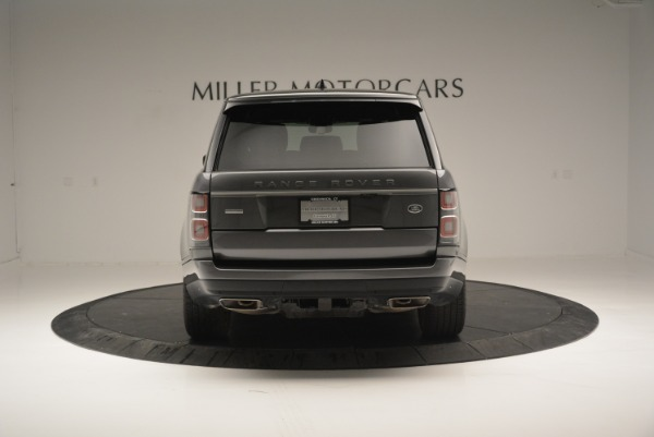Used 2018 Land Rover Range Rover Supercharged LWB for sale Sold at Maserati of Greenwich in Greenwich CT 06830 6