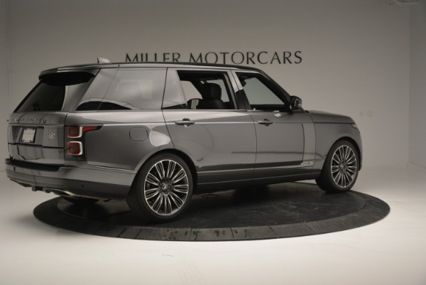 Used 2018 Land Rover Range Rover Supercharged LWB for sale Sold at Maserati of Greenwich in Greenwich CT 06830 8
