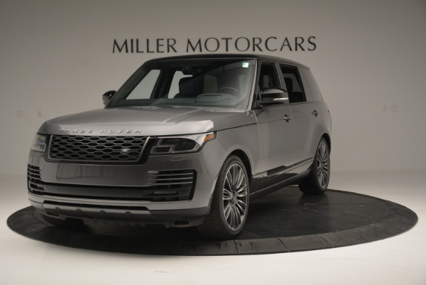 Used 2018 Land Rover Range Rover Supercharged LWB for sale Sold at Maserati of Greenwich in Greenwich CT 06830 1