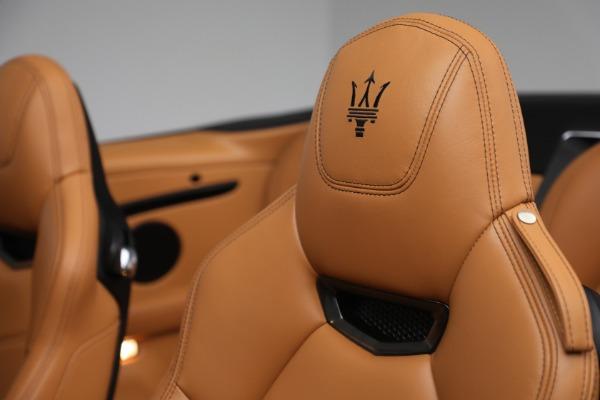 Used 2018 Maserati GranTurismo Sport for sale Sold at Maserati of Greenwich in Greenwich CT 06830 23