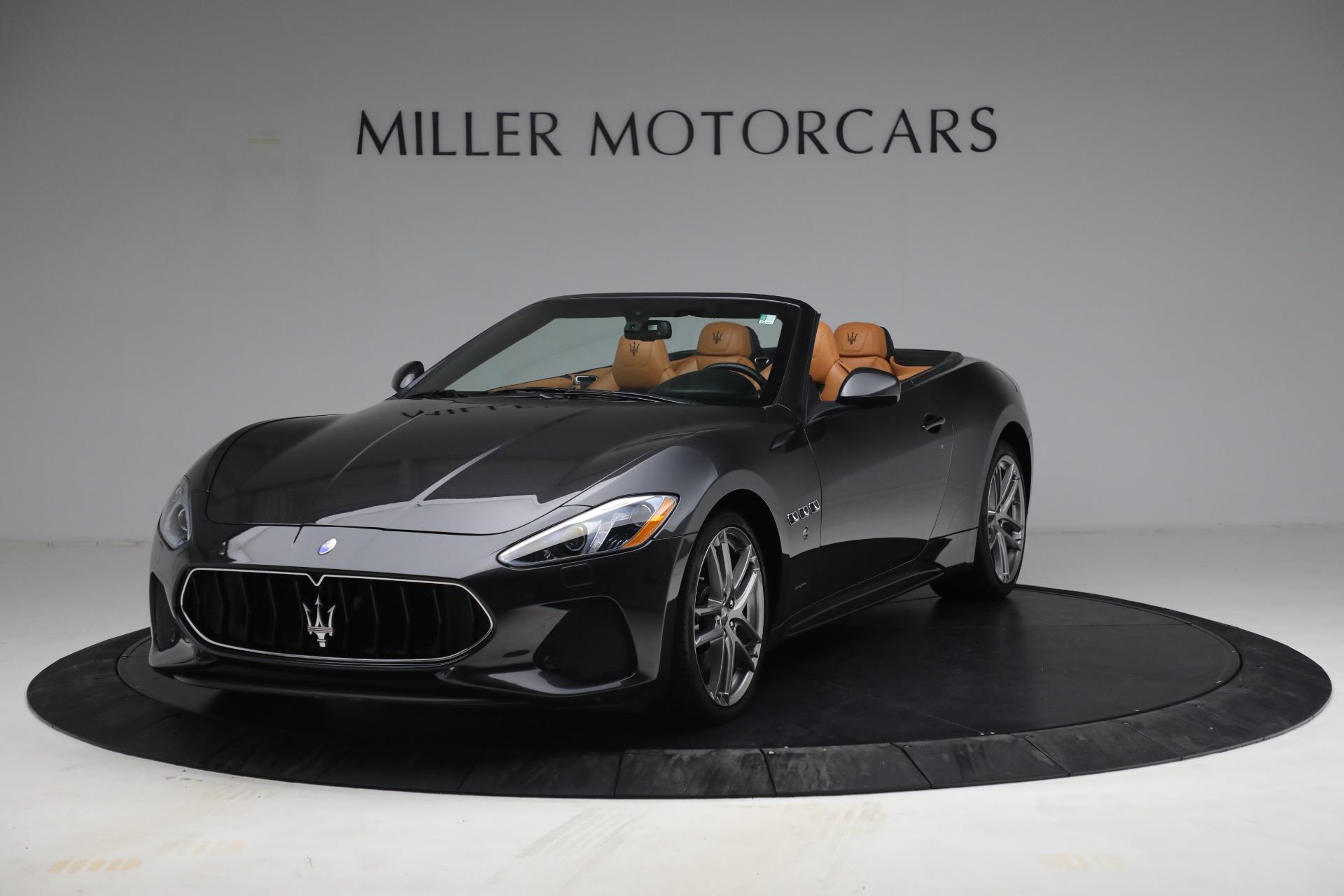 Used 2018 Maserati GranTurismo Sport for sale Sold at Maserati of Greenwich in Greenwich CT 06830 1