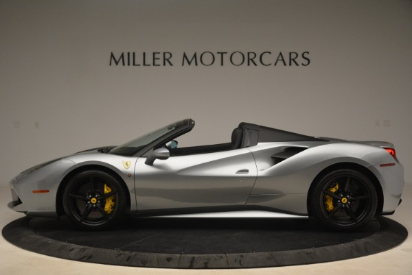 Used 2018 Ferrari 488 Spider for sale $274,900 at Maserati of Greenwich in Greenwich CT 06830 3