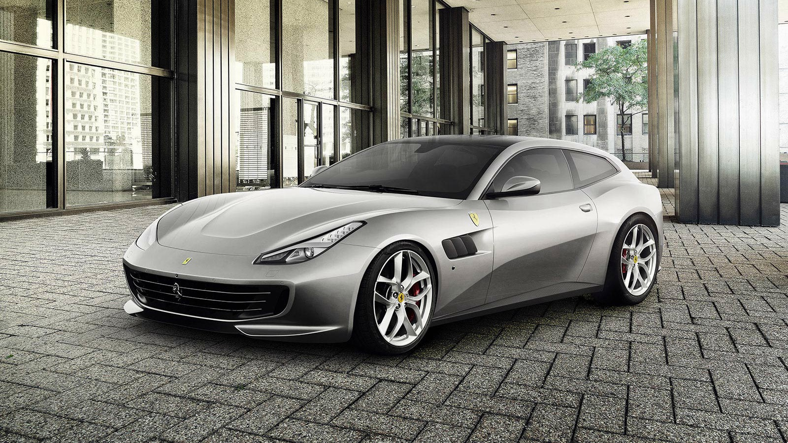 New 2020 Ferrari GTC4LussoT V8 for sale Call for price at Maserati of Greenwich in Greenwich CT 06830 1