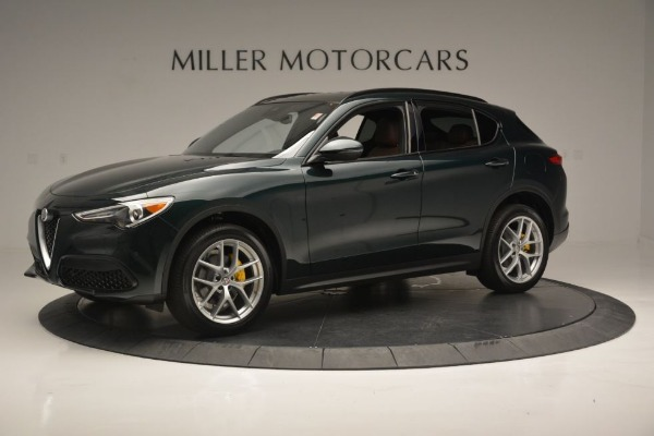 New 2018 Alfa Romeo Stelvio Ti Sport Q4 for sale Sold at Maserati of Greenwich in Greenwich CT 06830 3