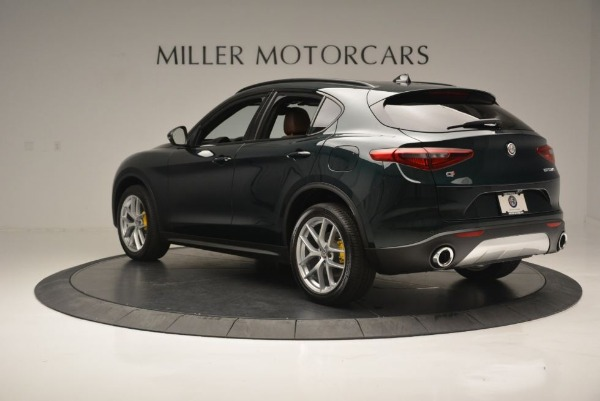 New 2018 Alfa Romeo Stelvio Ti Sport Q4 for sale Sold at Maserati of Greenwich in Greenwich CT 06830 6