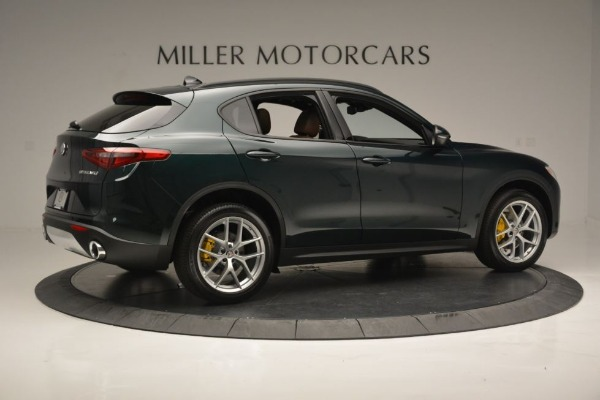 New 2018 Alfa Romeo Stelvio Ti Sport Q4 for sale Sold at Maserati of Greenwich in Greenwich CT 06830 9