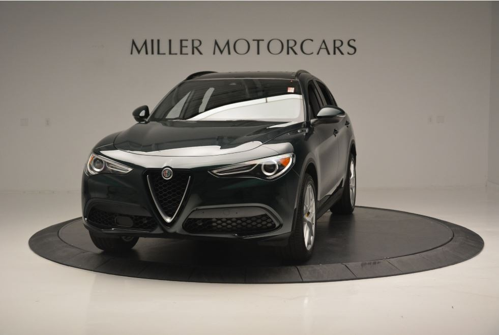 New 2018 Alfa Romeo Stelvio Ti Sport Q4 for sale Sold at Maserati of Greenwich in Greenwich CT 06830 1