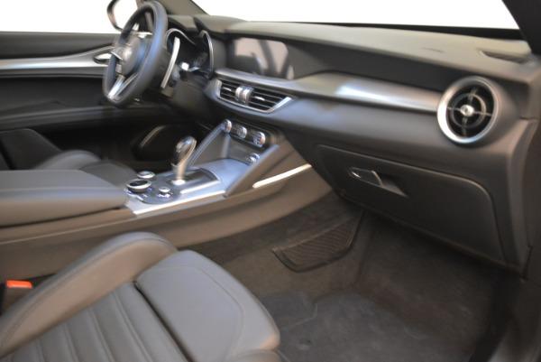New 2018 Alfa Romeo Stelvio Ti Sport Q4 for sale Sold at Maserati of Greenwich in Greenwich CT 06830 15