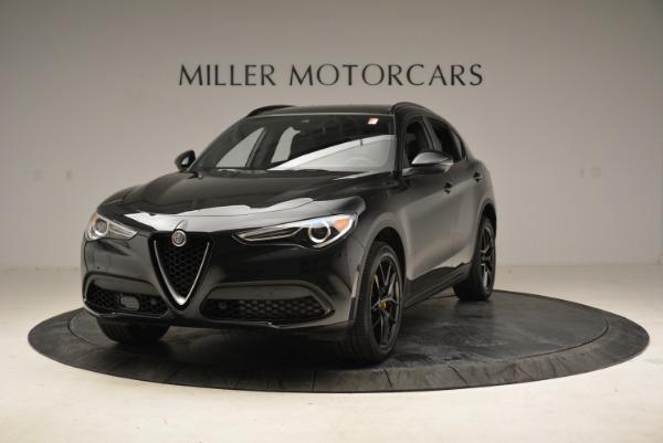 New 2018 Alfa Romeo Stelvio Ti Sport Q4 for sale Sold at Maserati of Greenwich in Greenwich CT 06830 1