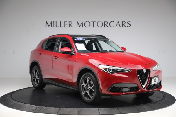 Used 2018 Alfa Romeo Stelvio Sport Q4 for sale Sold at Maserati of Greenwich in Greenwich CT 06830 11