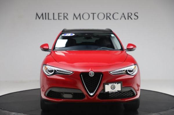 Used 2018 Alfa Romeo Stelvio Sport Q4 for sale Sold at Maserati of Greenwich in Greenwich CT 06830 12