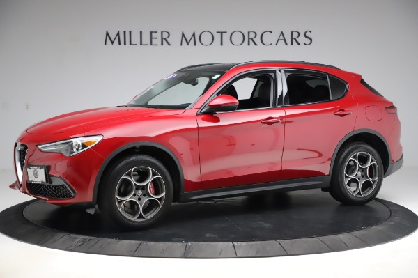 Used 2018 Alfa Romeo Stelvio Sport Q4 for sale Sold at Maserati of Greenwich in Greenwich CT 06830 2