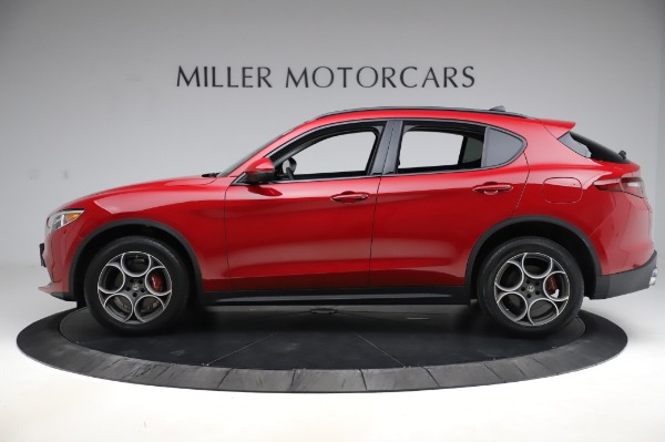 Used 2018 Alfa Romeo Stelvio Sport Q4 for sale Sold at Maserati of Greenwich in Greenwich CT 06830 3
