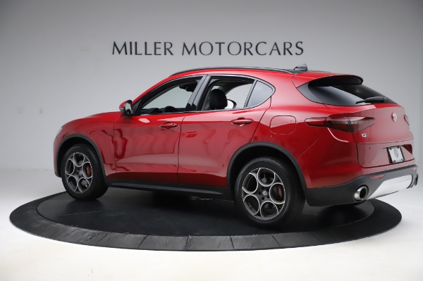 Used 2018 Alfa Romeo Stelvio Sport Q4 for sale Sold at Maserati of Greenwich in Greenwich CT 06830 4