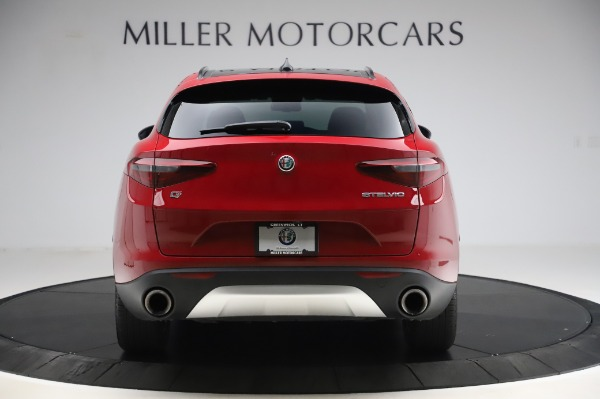 Used 2018 Alfa Romeo Stelvio Sport Q4 for sale Sold at Maserati of Greenwich in Greenwich CT 06830 6