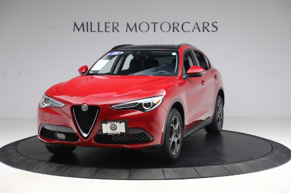 Used 2018 Alfa Romeo Stelvio Sport Q4 for sale Sold at Maserati of Greenwich in Greenwich CT 06830 1