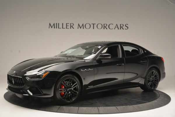 New 2018 Maserati Ghibli SQ4 GranSport Nerissimo for sale Sold at Maserati of Greenwich in Greenwich CT 06830 2