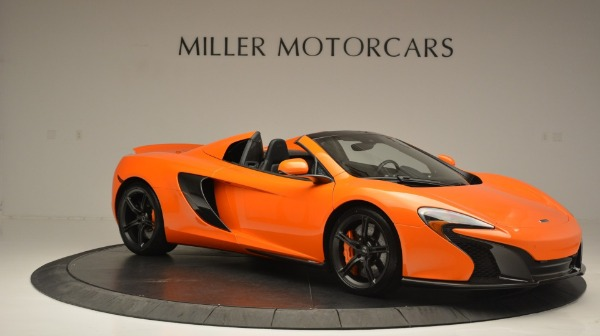 Used 2015 McLaren 650S Spider Convertible for sale Sold at Maserati of Greenwich in Greenwich CT 06830 10