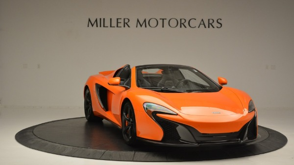 Used 2015 McLaren 650S Spider Convertible for sale Sold at Maserati of Greenwich in Greenwich CT 06830 11